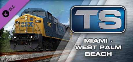 Train Simulator 2015 Miami - West Palm Beach Route