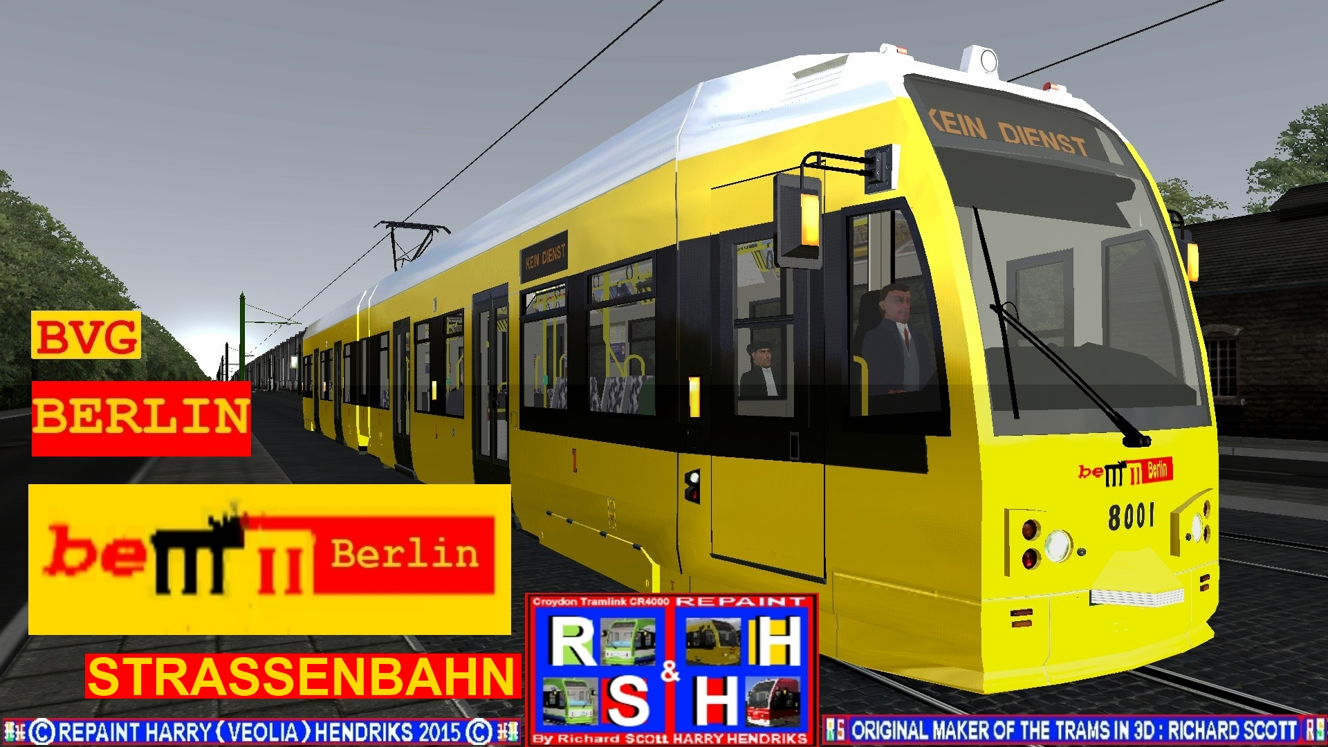 ts2015 de bvg berliner strassenbahn. Black Bedroom Furniture Sets. Home Design Ideas