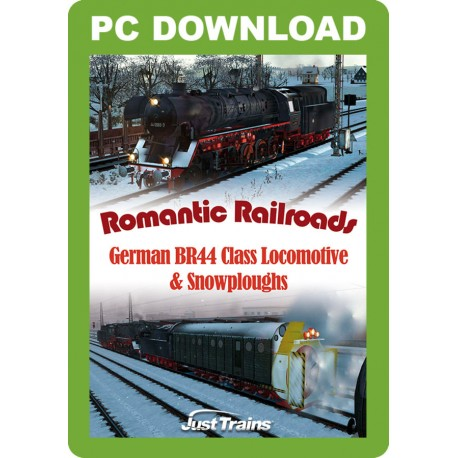 Romantic Railroads - German BR44 Class Locomotive & Snowploughs